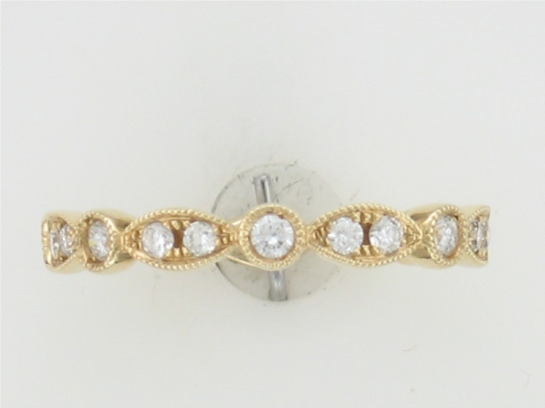 Wedding Band - 14KTY DIA WEDDING BAND 0.35CTTW H SI1