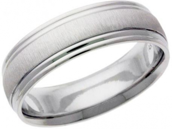 Wedding Band - This ring design is karat gold ring and can be ordered in 10kt or 14kt yellow or white gold. Ring can be customized to 5-8mm width.