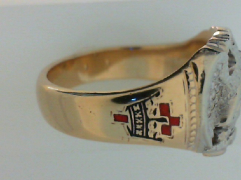 Estate & Vintage Jewelry - ESTATE 'MASON'S' RING - image #3