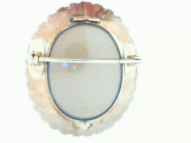 Estate & Vintage Jewelry - VICTORIAN CAMEO BROOCH WITH PEARLS - image #2