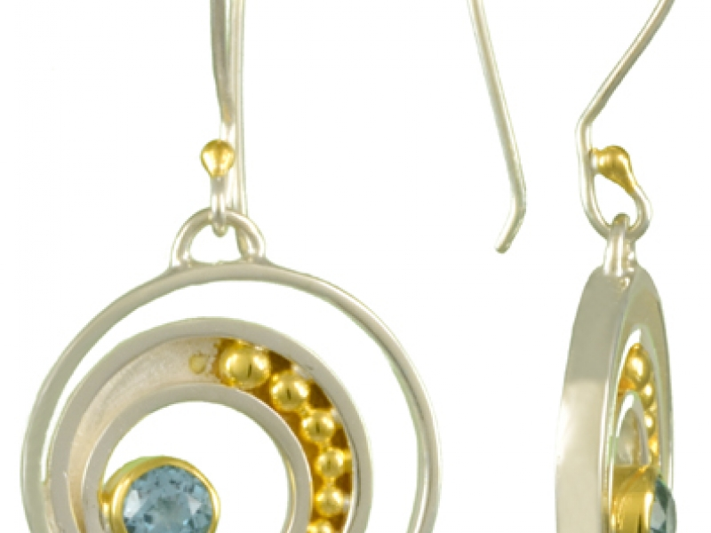 Earrings - Abstract earrings - image #2