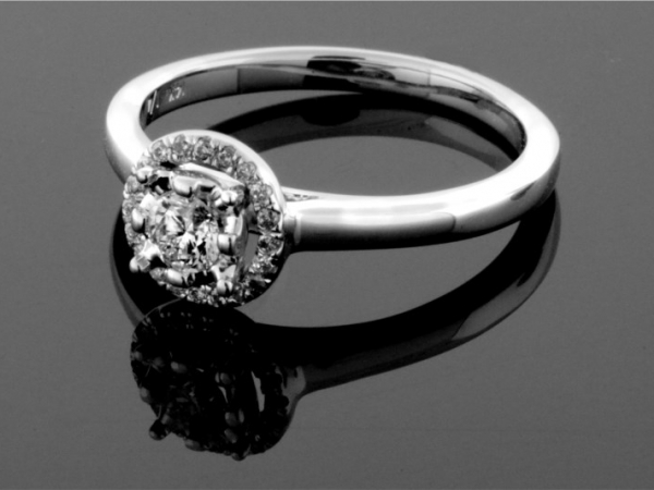Fashion Ring - 14KW 1/2CTW DIAMOND RING
