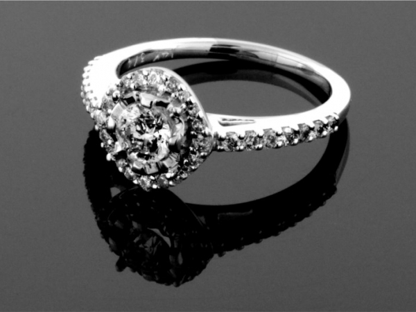 Fashion Ring - 14KW 3/4CTW DIAMOND RING