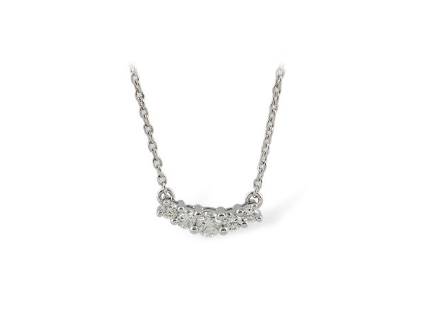 Necklace - 14KW .45CTW DIAMOND NECKLACE