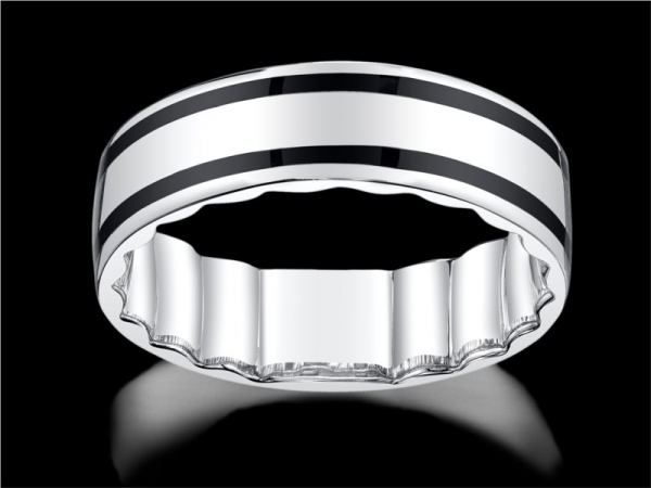 Wedding Band - 10KW MFIT GENTS RING