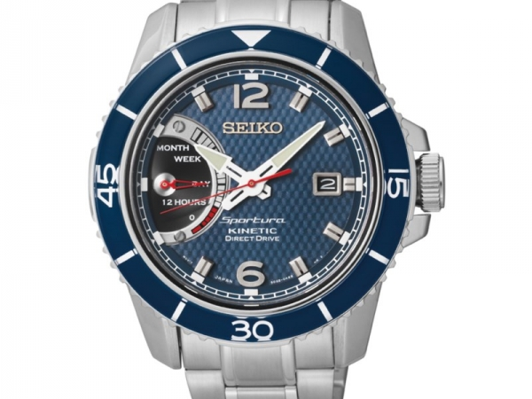 Watch - GENTS SPORTURA KINETIC SEIKO WATCH