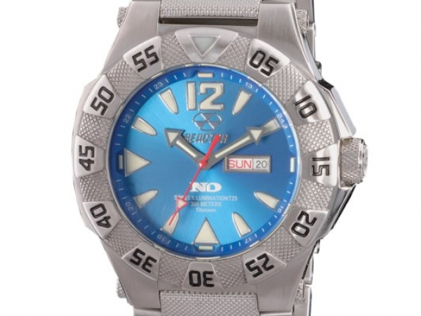Watch - TITANIUM, DAY/DATE, NEVER DARK REACTOR WATCH