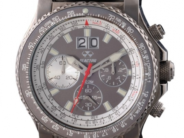 Watch - VALKRIE, CHRONOGRAPH GUNMETAL PLATED STAINLESS REACTOR WATCH