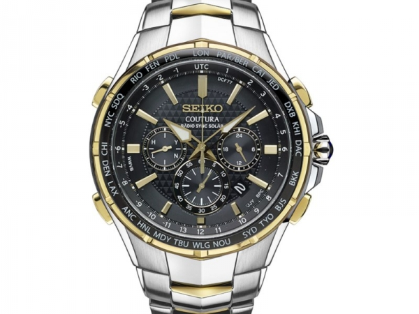 Watch - SEIKO COTURA CHRONOGRAPH RADIO SYNC SOLAR GENTS WATCH