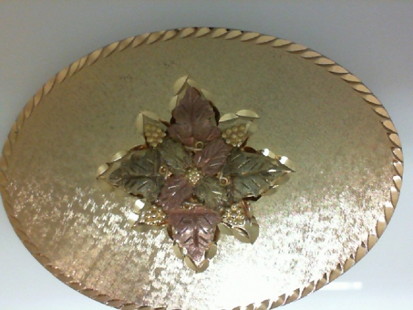 BHG Ring - 10K BHG TRIM BELT BUCKLE PURCHASED AS IS ORIGINAL $595.00