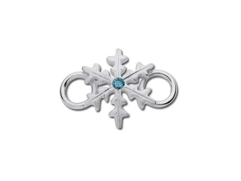 LeStage Convertible Bracelets - Snowflake Clasp with Stone - image #2