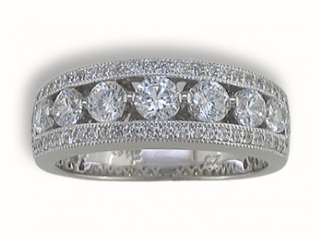 Bridal Jewelry - Diamond Anniversary Ring