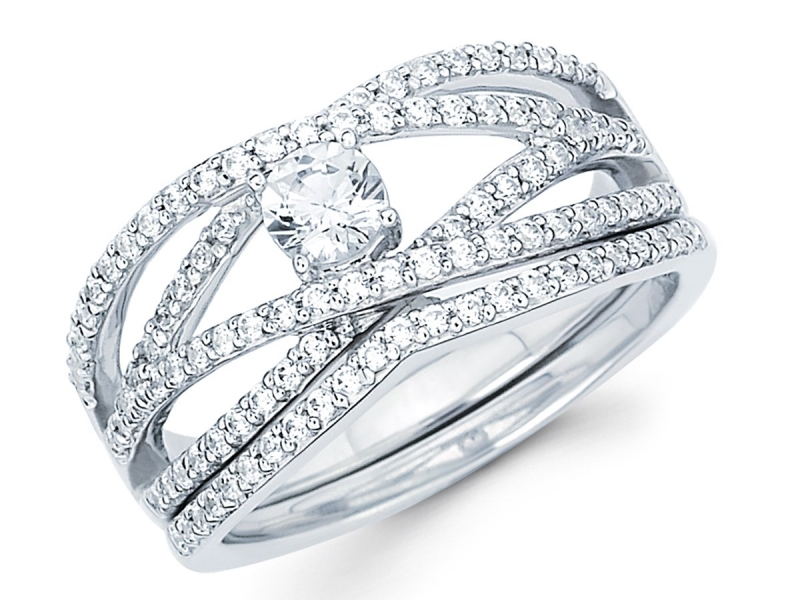 Bridal Jewelry - Diamond Semi-Mount - image #2