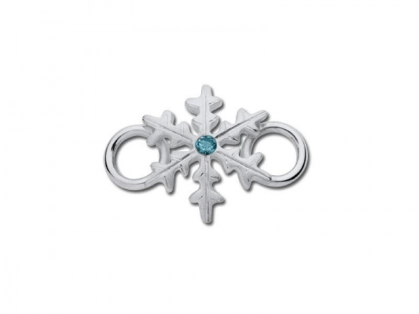 LeStage Convertible Bracelets - Snowflake Clasp with Stone