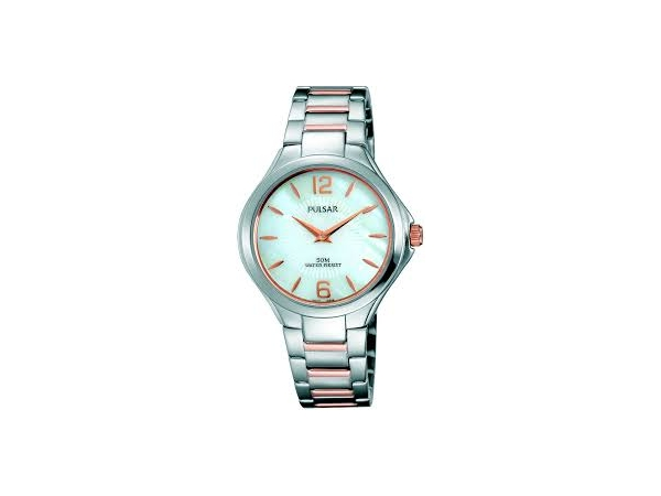 Watch - Ladies Rose And Silver Pulsar Watch