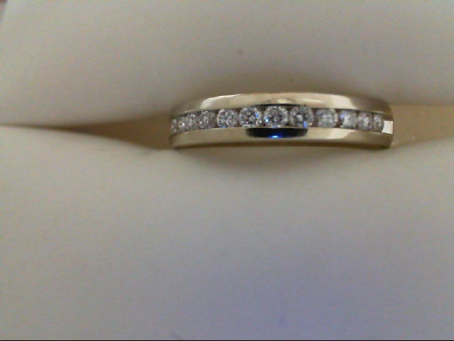 Wedding Band - Channel Diamond Band 3/4 tdw 14 karat white