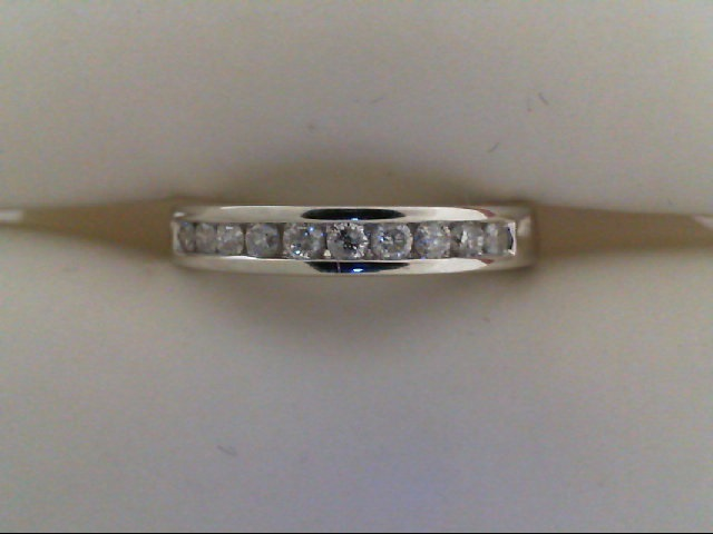 Wedding Band - Diamond Channel Band 1/2 tdw 14 karat white
