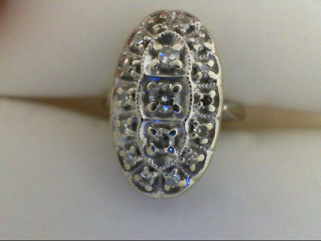 Wedding Band - Diamond Cluster Ring 1/2 tdw 14 karat yellow