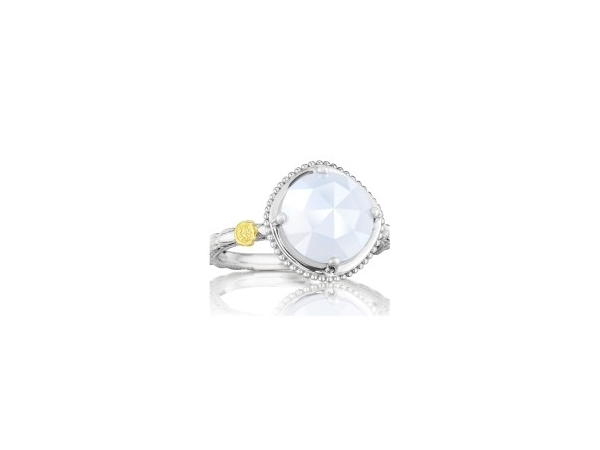 Fashion Ring - Tacori: Chalcedony Stackable Ring 18K 925