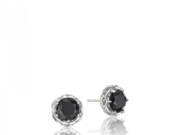 Earrings - Tacori: Black Onyx Stud Earring 18K 925