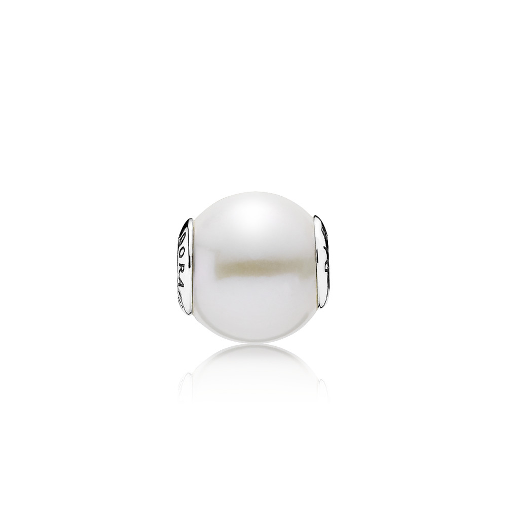 Pandora - PANDORA ESSENCE COLLECTION Charm Dignity with White Freshwater Cultured Pearl