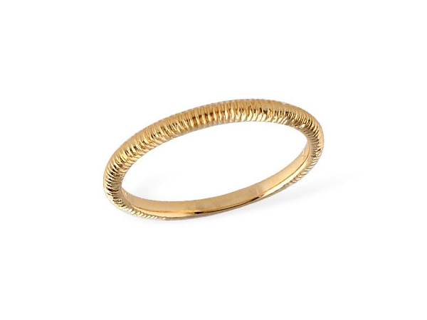 Wedding Band - New piece! Allison-Kaufman 14ky gold textured wedding band, size 7.