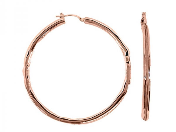 Charm - New piece! Charles Garnier 40mm 18kr gold plated sterling silver hoops.