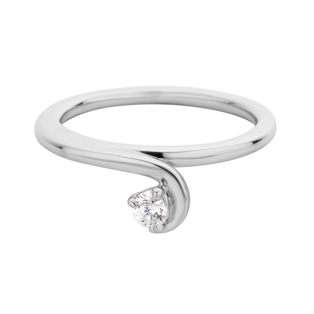 Engagement Rings - 18 Karat White Gold