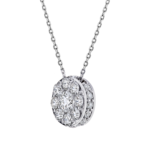 Diamond Necklaces - Diamond Pendant - image #2
