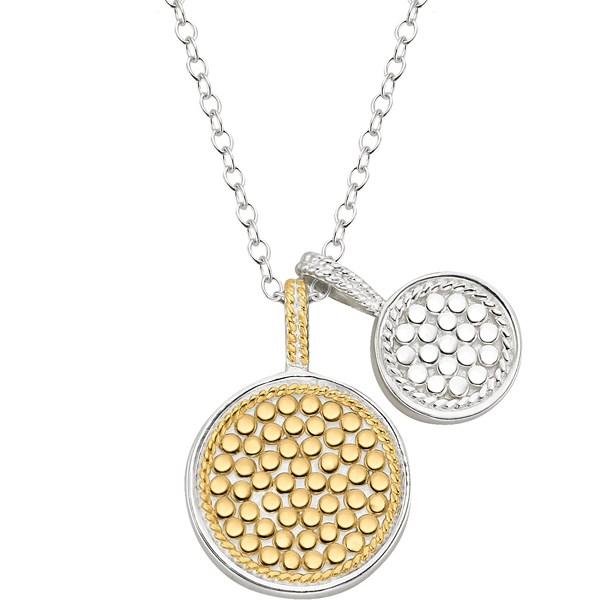 Sterling/Gold Necklaces - Sterling/Gold Pendant - image #2