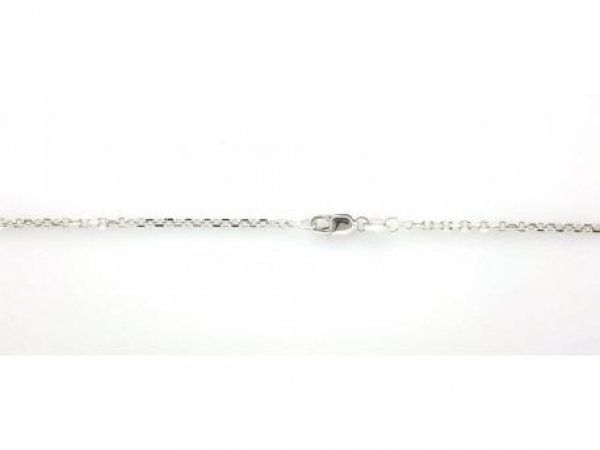 Chains for necklaces, bracelets and anklets - 14K white gold 18