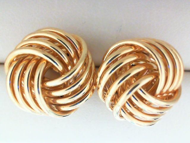 Earrings - 14K Yellow Gold 3/4