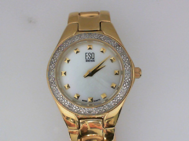 Watch - LADIES YL DIA BEZEL INTRIGUE MOP DIAL ESQ WATCH