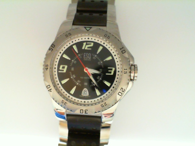 Watch - Mans Stainless/Black Antero Black Dial Esq Watch