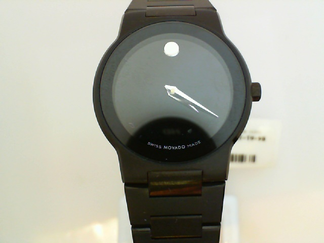 Watch - Ladies Black Pvd Stainless Steel Safiro Movado Museum Dial Watch