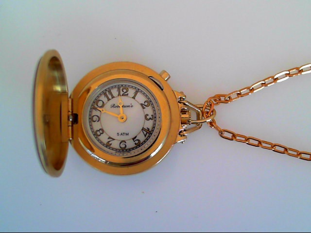Watch - Robertson's Satin Finish Y Pendant Watch With Chain