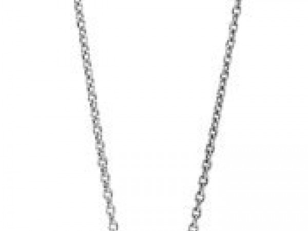 Pandora Necklaces - Necklace Three Wishes, Grey Freshwater Cultured Pearl