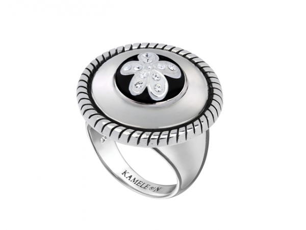 JewelPop - Rope edged Round Ring