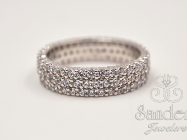 Bridal Jewelry - Diamond Eternity Band
