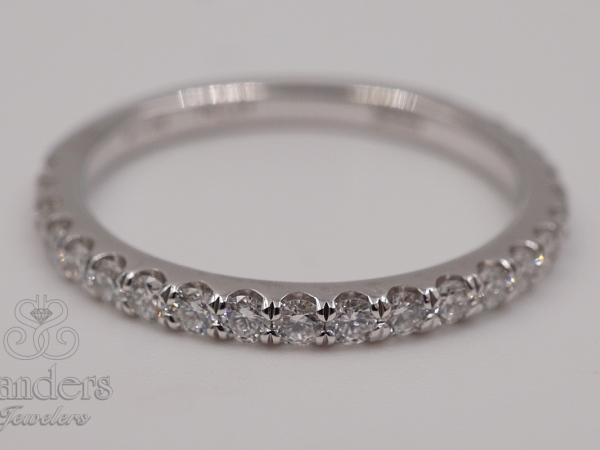 Bridal Jewelry - Platinum Diamond Band