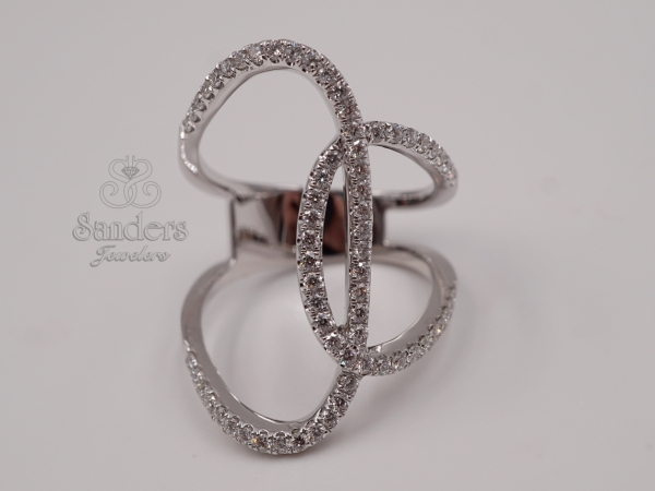 Rings - Overlapping Fashion Ring