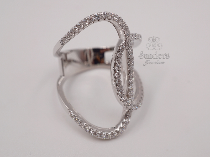 Rings - Overlapping Fashion Ring - image #2