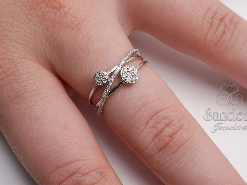 Rings - Orbit Fashion Diamond Ring - image #2