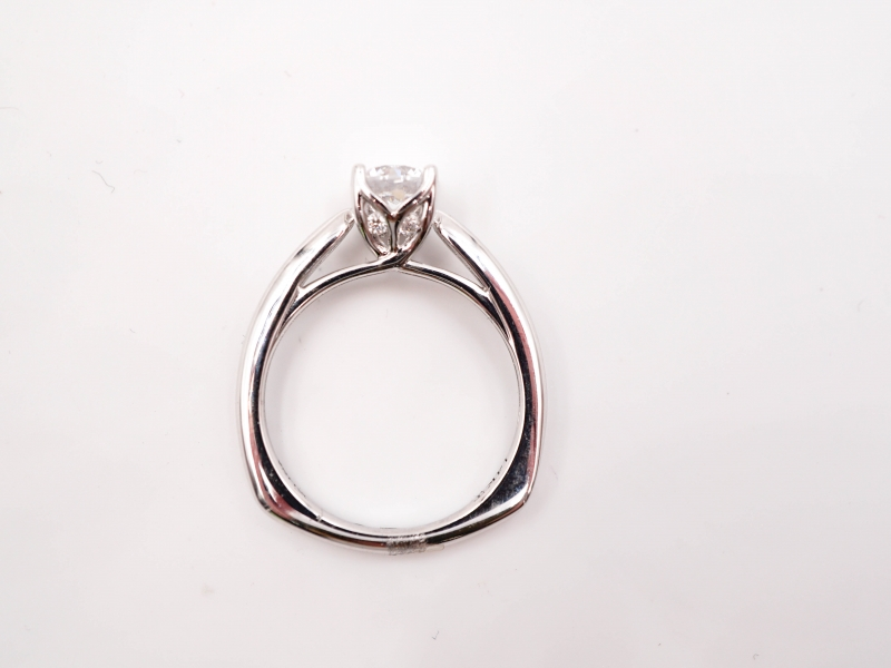 Bridal Jewelry - Solitaire Engagement Ring  - image #3