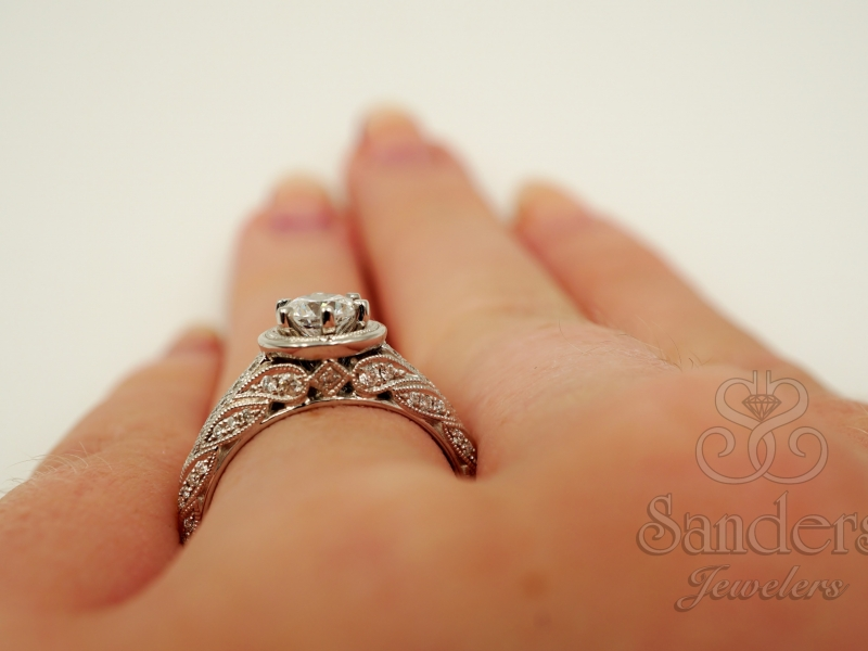 Bridal Jewelry - Vintage Engagement Ring - image #5