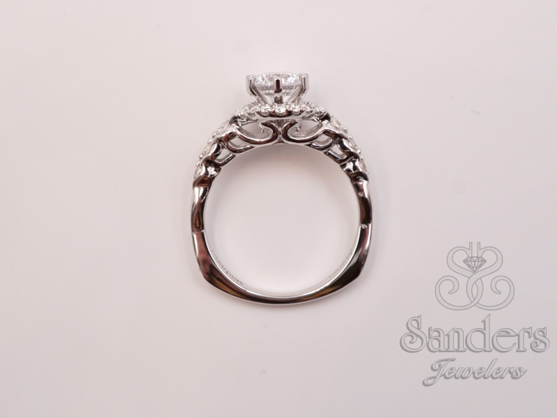 Bridal Jewelry - Six Prong Diamond Engagement Ring - image #3