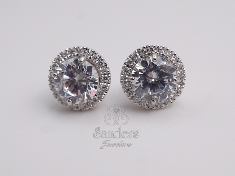 Earrings - Diamond Earring Jackets - image #2