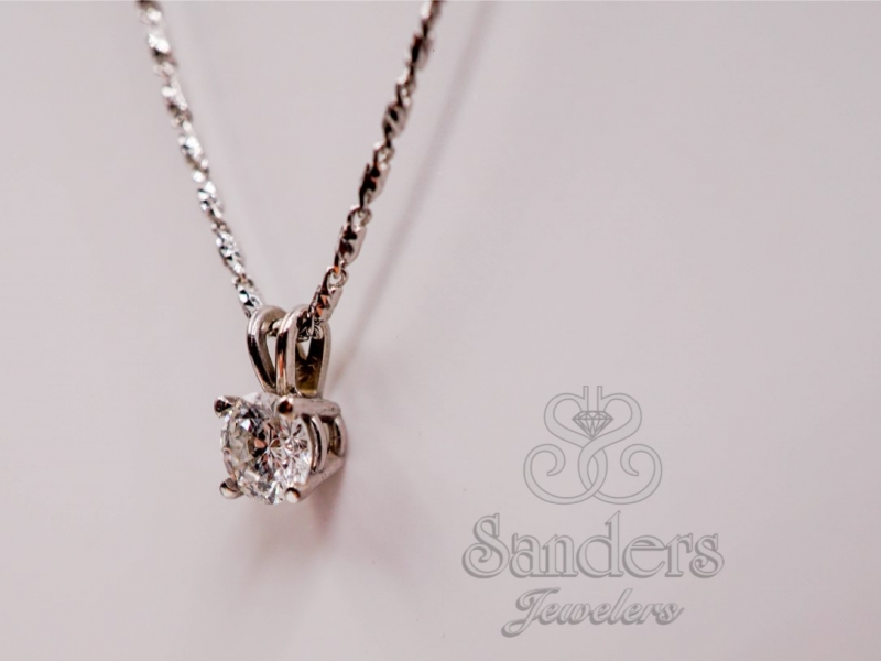 Pendants & Necklaces - Diamond Pendant - image #2