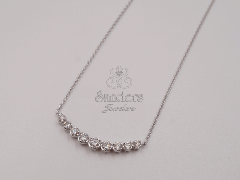 Pendants & Necklaces - Diamond Smile Pendant - image 2
