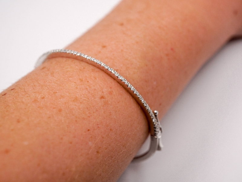 Bracelets - Diamond Bangle  - image 3